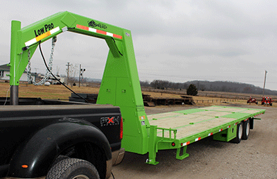 Custom Flatbed Trailer Gallery Featuring The Red Rhino