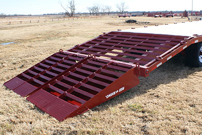 how to make trailer ramps