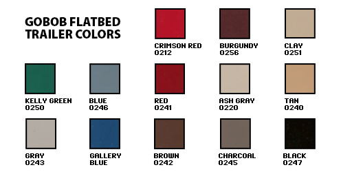 Trailer Color Swatches