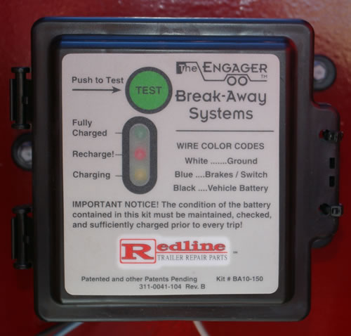 All Red Rhino's are equipped with safety chains and break-away systems.