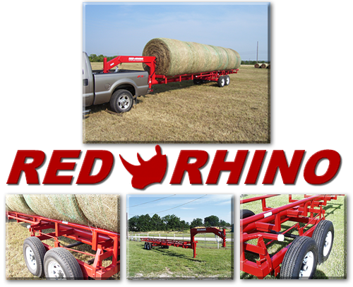 The World's Best Hay Trailer - Red Rhino!